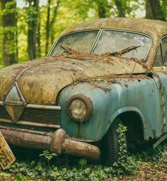 multa abandono coche via publica